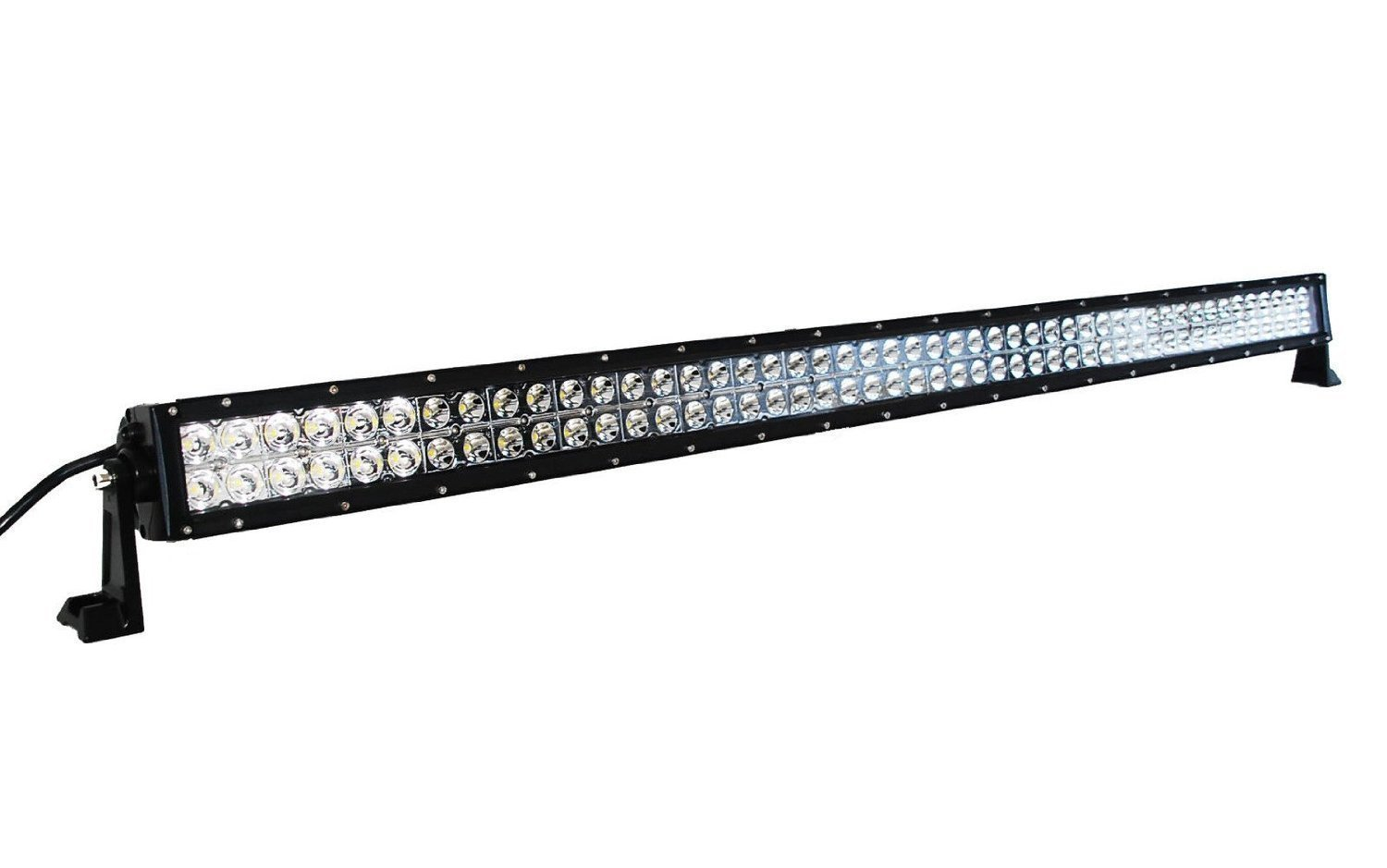 Cree 50 Quot Inch 4d Led 288w Light Bar Double Row Offroad